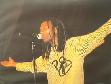 A073 - RANKING ROGER Signed 10 x 8 photo