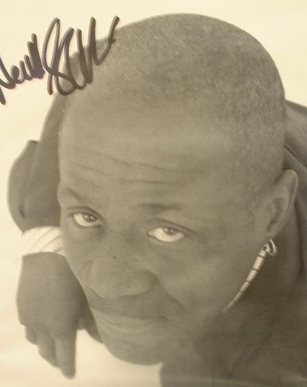 A081 - NEVILLE STAPLE Autographed top 10 x 8 photo