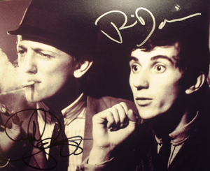 A178 - Quadrophenia reunion Signed 10x8 photo by PHIL DANIELS