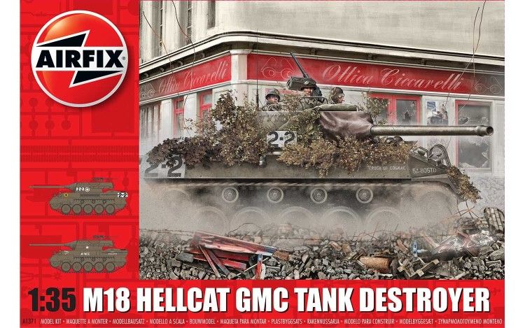 Airfix A1371 M-18 Hellcat 1:35 Plastic Model Kit