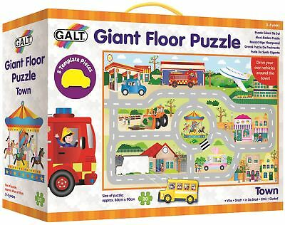 Galt GIANT FLOOR PUZZLE -TOWN Children Toys And Activities
