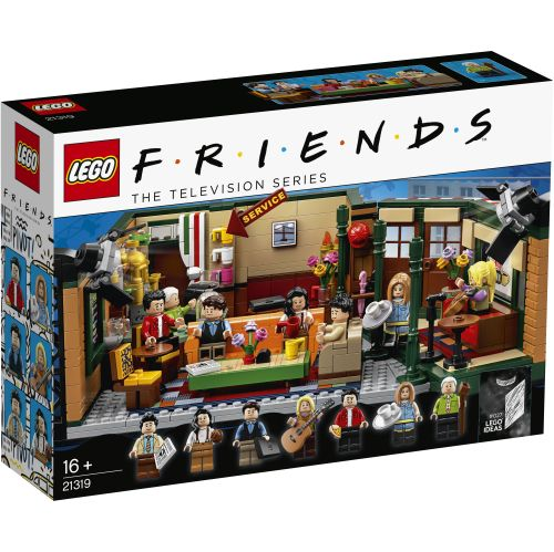 LEGO 21319 IDEAS FriendsCentral Perks