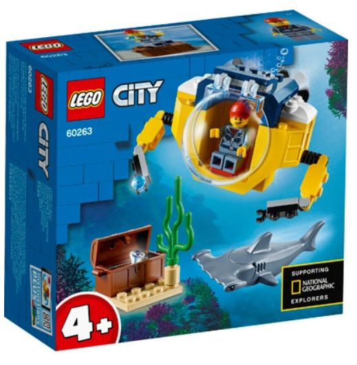 LEGO 60263 City Ocean Mini-Submarine