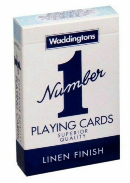 Waddingtons No.1 Classic Playing Cards Deck BLUE