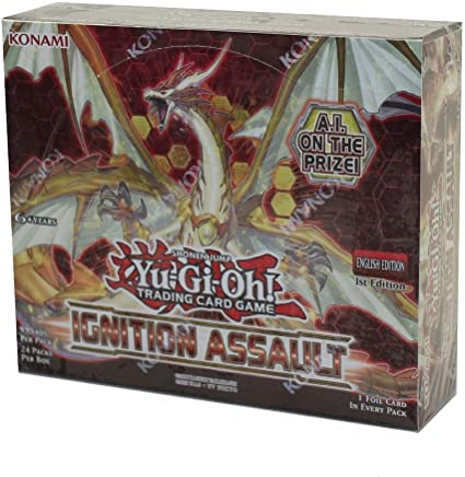 YuGiOh! Booster Box IGNITION ASSAULT