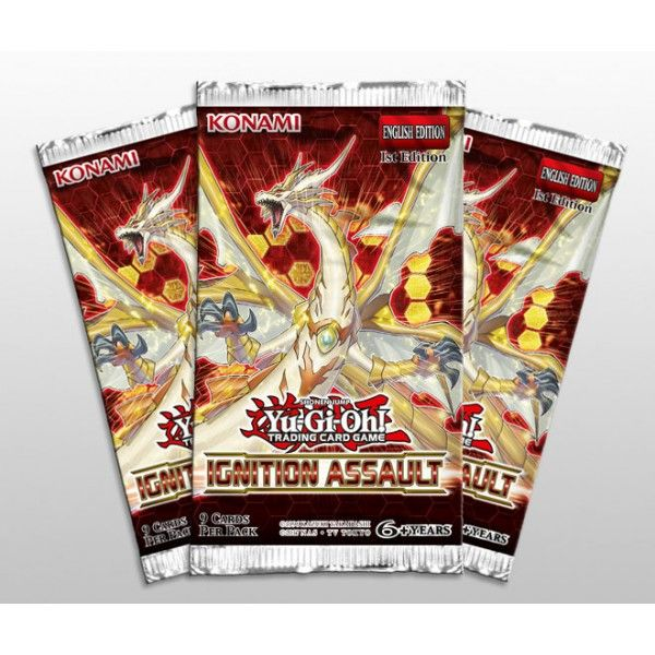 YuGiOh! Single Booster IGNITION ASSAULT