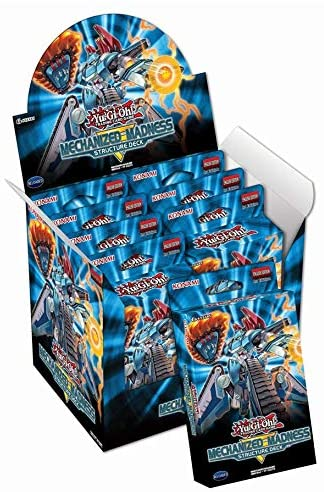 YuGiOh Structure Deck MECHANIZED MADNESS